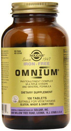 Iron Free Omnium - 100 Tablet