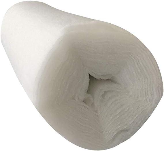 Guata de Poliéster Blanca para Relleno 200gr/m² Oeko-Tex 160cm de Ancho, 5 Metros: Amazon.es: Hogar