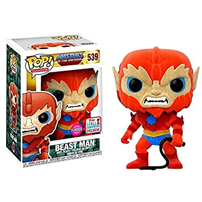 Funko - Figurine Master Of The Universe - Beast Man Flocked Exclu Pop 10cm - 0889698208956