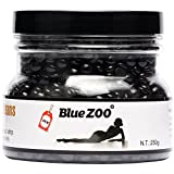 Bluezoo Depilatory Hard Wax Beads Stripless Hot Film Waxing Pellets for Body Bikini Hair Removal 250g Nature Smell