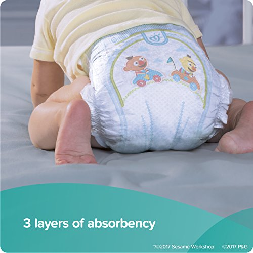 Large Product Image of Pampers Baby-Dry Disposable Diapers Size 4, 180 Count, ECONOMY PACK PLUS