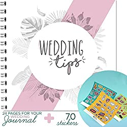 THE PERFECT GUIDE FOR THE BRIDE - Wedding Tips and Guidance, Wedding Planner And Organizer, Every Bride's Essential Guide, With 70 Beautiful Stickers Included! By Little big Drop