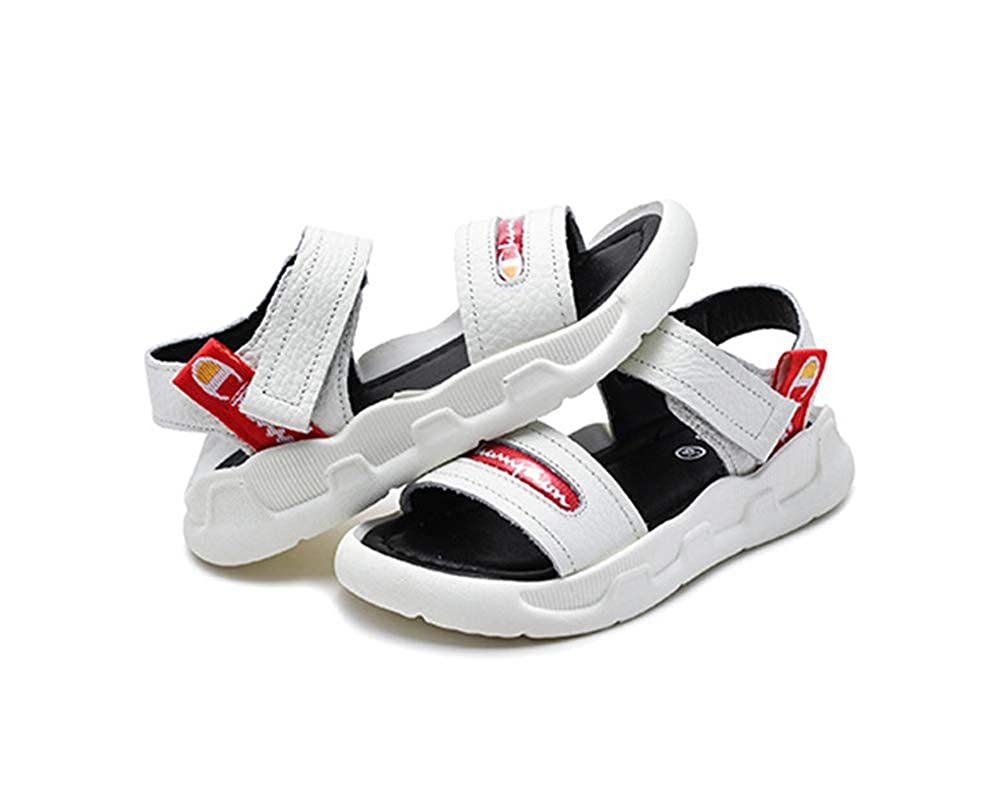 Mobnau Leather Outdoor Athletic Sport Skidproof Sandals for Boys