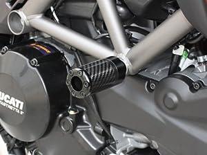 Amazon Com Frame Sliders Carbon Ducati Monster 750 01 02 Automotive