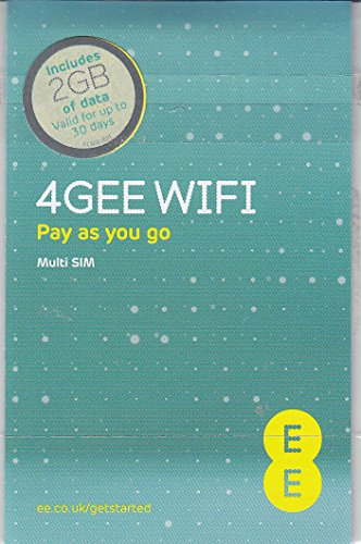 Europe (UK EE) 4G Mobile Broadband Data SIM preloaded with 2GB lasting 30 days FREE ROAMING / USE in Europe