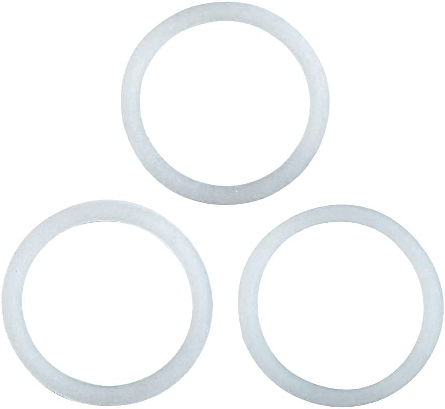 Primula Replacement Silicone Gasket for Stainless Steel 6 Cup Stovetop Espresso Maker Set of 3