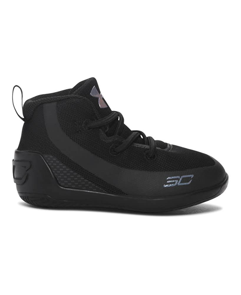 28af4342722 Amazon.com  Under Armour Crib UA Curry 3 Basketball Shoes 4K Trifecta Black   Shoes