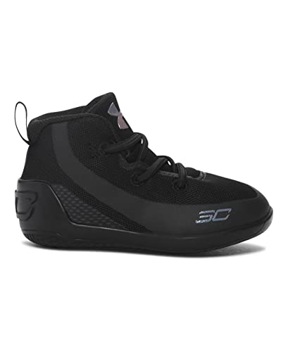 d069b1a8f70 Image Unavailable. Image not available for. Color  Under Armour Crib UA Curry  3 Basketball Shoes 4K Trifecta Black