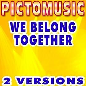 mp3 we belong together: