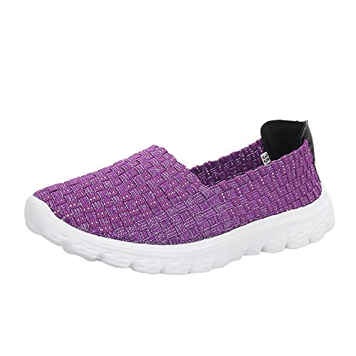 HLHN Scarpe Donna Corsa da Purple 6Tzqw6Of