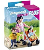 Playmobil 4782 - Mamma con Bambini, 3 Pezzi