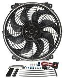 Derale 16514 14'' Tornado Electric Fan Premium Kit