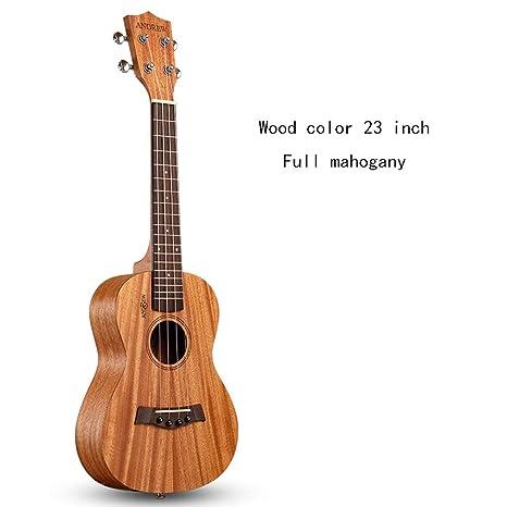 Mkulele Ukulele 23 Pulgadas Uklele Clásico 26 Guitarra Pequeña ...