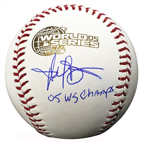 - Harold Baines Signed Rawlings 2005 World Series (Chicago White Sox) Baseball w/05 WS Champs