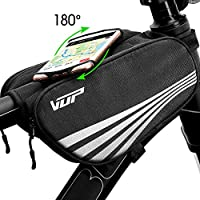 VUP Bike Bag for Top Tube, Bicycle Front Tube Frame Bags...