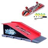 Mini Finger Skateboard and Ramp Accessories Set (B)