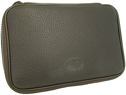 Martin Wess Germany ''Scandinavian Elk Leather'' 4 Pipe Bag Case Tobacco Pouch by Martin Wess