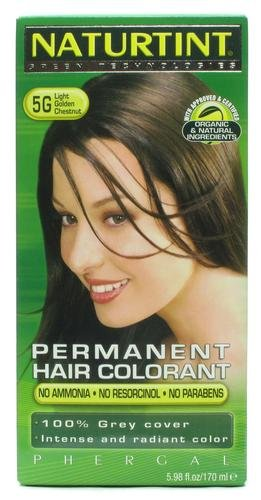 Naturtint Permanent Light Golden Chestnut 5G 5.6fl.oz (Best Home Hair Dye Uk)