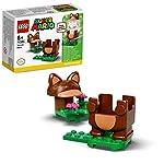 LEGO Super Mario Mario Tanuki - Power Up Pack, Espansione, Costume per Girare e Calpestare i Nemici, Giocattolo, 71385  LEGO