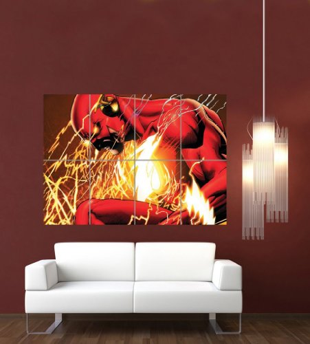 the-flash-comic-book-cartoon-giant-art-print-poster-picture-g1071