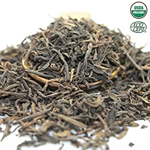 Tealyra - Ripe Pu erh Tea Loose Leaf - 5 Years Aged - 100% Natural And Organic- Caffeine Level High - Loose Weight Tea - Aged Black Tea Pu Er (4oz / 113g)