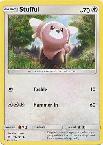 Bewear 113//145 Guardians Rising Reverse Holo Mint Pokemon Card
