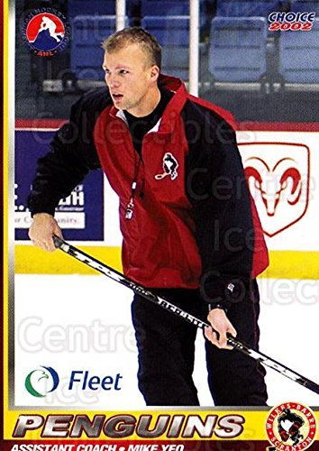(CI) Mike Yeo Hockey Card 2001-02 Wilkes-Barre Scranton Penguins 24 Mike Yeo