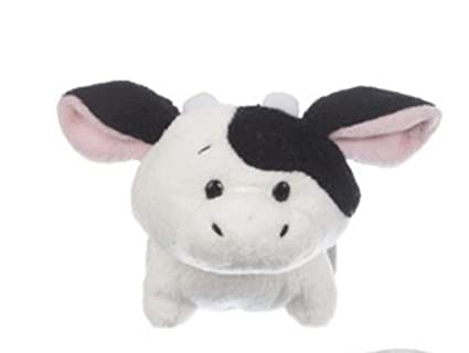 Amazon Com Li L Dimples Small Adorable Cow Plush Toy By Ganz 4in