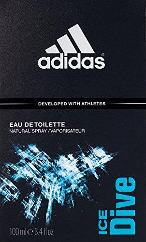 Adidas Ice Dive By Adidas For Men, Eau De Toilette Spray, 3.4-Ounce Bottle
