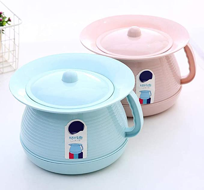 QMJYP Bucket With Lid Ideal Camping Toilet,commode Potty,Household plastic urinal for adult//elderly//children plastic toilet