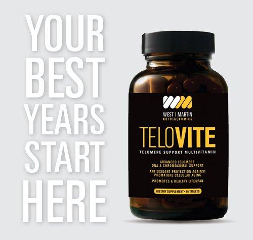51okv66 C3L - TeloVite - Advanced Multivitamin Telomere Supplement - Anti-Aging Formula - Activate Telomerase and Lengthen Telomeres - 90 Tablets
