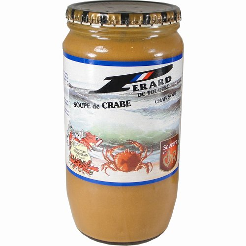 Perard Crab Soup - Gourmet from France, 850 ml (Lobster At Market Basket)