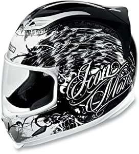 Amazon.com: Icon Airframe Street Angel Helmet , Size: Md
