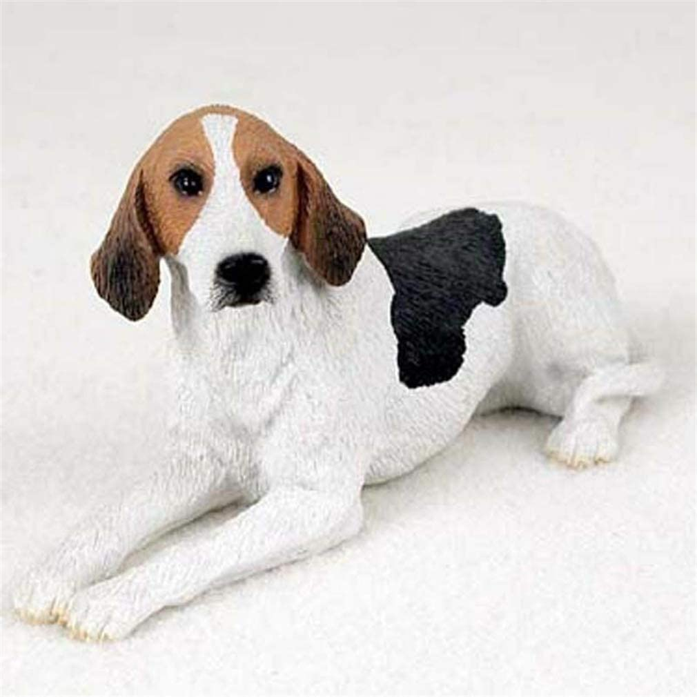 Ky & Co YesKela American Fox Hound Figurine Hand Painted Collectible Statue