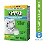 Health & Personal Care : Affresh Washing Machine Cleaner, 6 Tablets | Cleans Front Load & Top Load Washers, Including He