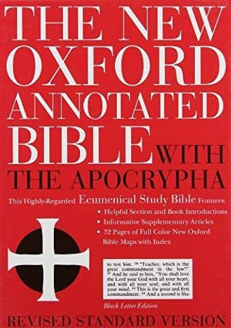The New Oxford Annotated Bible with the Apocrypha, Revised Standard Version, Expanded Edition (Genui (Expanded) [Leather (Oxford Annotated Bible Apocrypha)