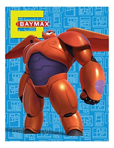 (Big Hero 6 Red Armor Microraschel Throw, 46x60
