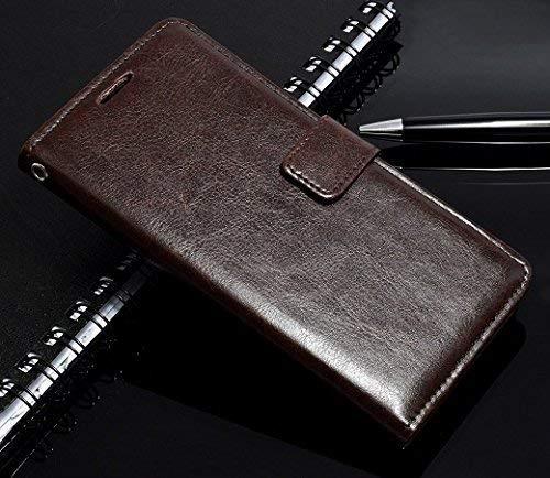 Erotic Flip Wallet Case Cover for Mi Redmi Note 4   Coffee Brown