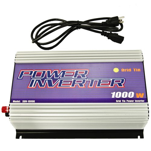 iMeshbean® 1000W Pure Sine-wave Gird Tie Solar Power Inverter 22-60V DC In 120V AC Output US SELLER by i-mesh-bean