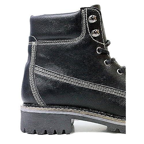 Will's Vegan Shoes Men's dock boots black [5EzPN0300949