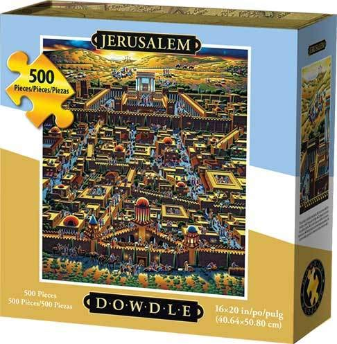 Dowdle Jigsaw Puzzle - Jerusalem - 500 Piece from D·O·W·D·L·E