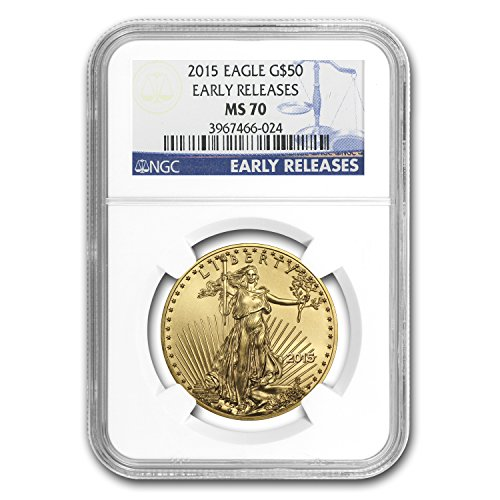 (2015 1 oz Gold American Eagle MS-70 NGC (Early Releases) 1 OZ MS-70 NGC )