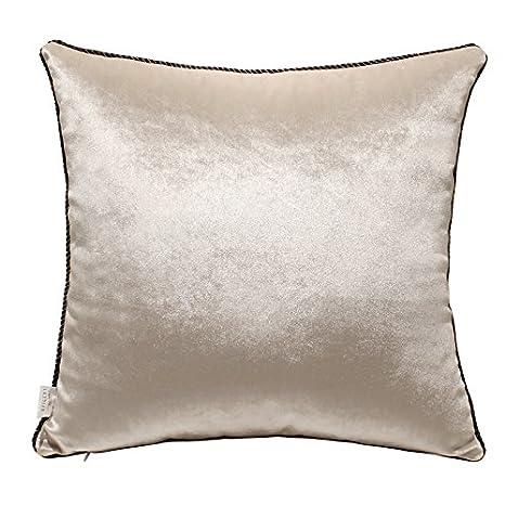 Amazon.com: Sólido Sofá lujosa manta de cojines decorativos ...
