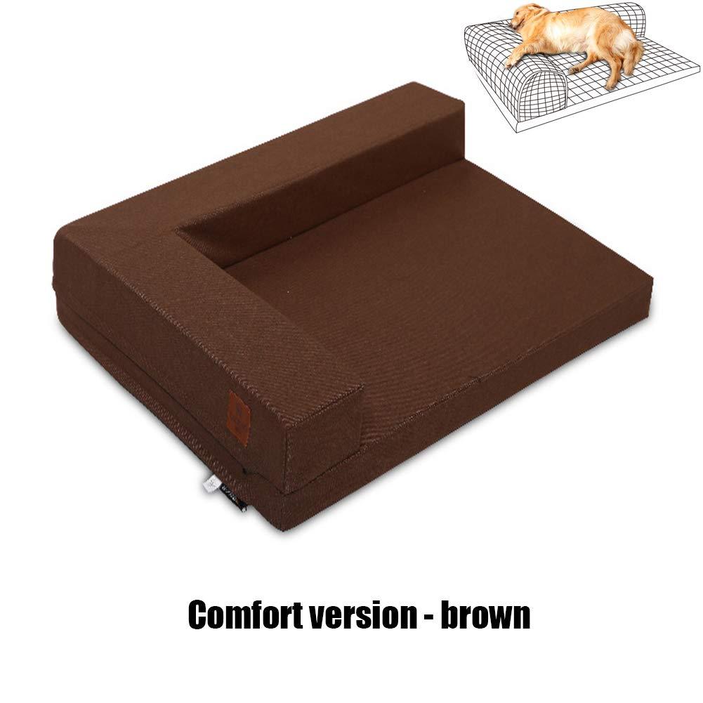 Comfortversionbrown X-Large Comfortversionbrown X-Large Pet Dog Bed, Dog and cat Sofa Bed Pillows, Summer Multicolor Style,Comfortversionbrown,XL