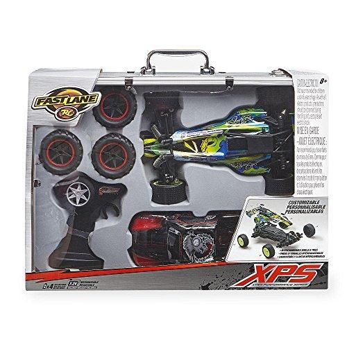 Aluminum Radio Controlled Toy (Fast Lane XPS Radio Control 1:14 Scale Car Kit in Aluminum Case)
