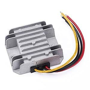 DROK DC-DC Buck Converter 12V/24V to 5V 5A/25W Step-down Voltage Transformer Volt Regulator Power Supply Inverter Module