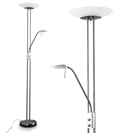 Piantana LED Olmini con Dimmer 2070 Lumen - Lampada da Terra Design ...