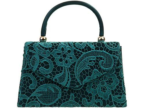 Bags Women's Spruce Top Clutch Evening Wedding Handbag Cross Bag s Body LeahWard Lace Purser 748Fndawqq