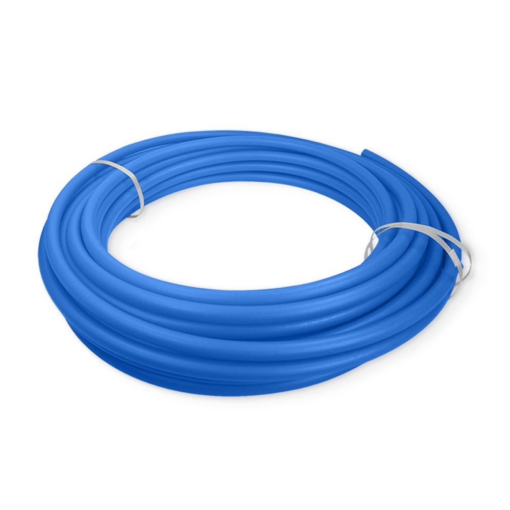 Pexflow PEX Potable Water Tubing - PFW-B34300 3/4 Inch X 300 Feet Tube Coil for Non-Barrier PEX-B Residential & Commercial Hot & Cold Water Plumbing Application (Blue)