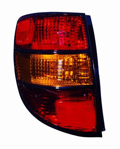 (Depo 336-1920L-AS Pontiac Vibe Driver Side Replacement Taillight Assembly)